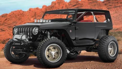 Șapte concepte Jeep Mopar iau cu asalt 2017 Easter Safari