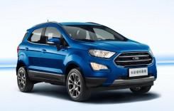 Așa arată noul Ford EcoSport, produs și la Craiova din toamnă