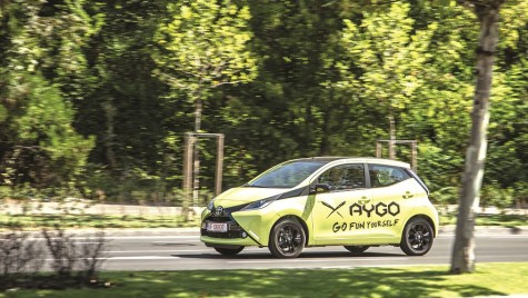 Test Toyota Aygo – Mickey Mouse