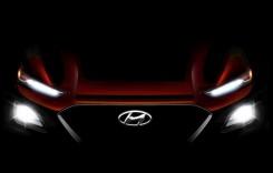 Hyundai Kona: Prima imagine cu noul SUV de oraș