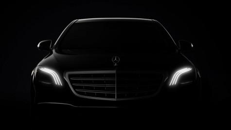Mercedes S-Class facelift: Primele imagini și detalii