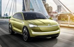 Oficial: Skoda Vision E, primul SUV Coupe electric al mărcii