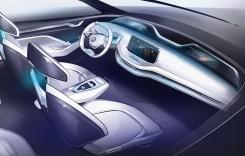 Skoda Vision E: Prima imagine cu interiorul noului SUV electric