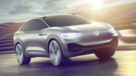 VW I.D. Crozz: SUV Coupe electric cu 500 km autonomie