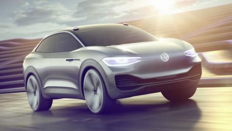 VW I.D. Crozz: SUV Coupe electric cu 500 km autonomie