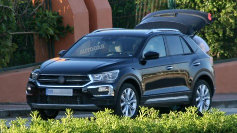 Primele imagini cu VW T-Roc, fratele mai mic al lui Tiguan