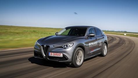 Test Alfa Romeo Stelvio 2.0T 280 CP: un racer printre SUV-uri