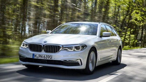 Test BMW 520d Touring