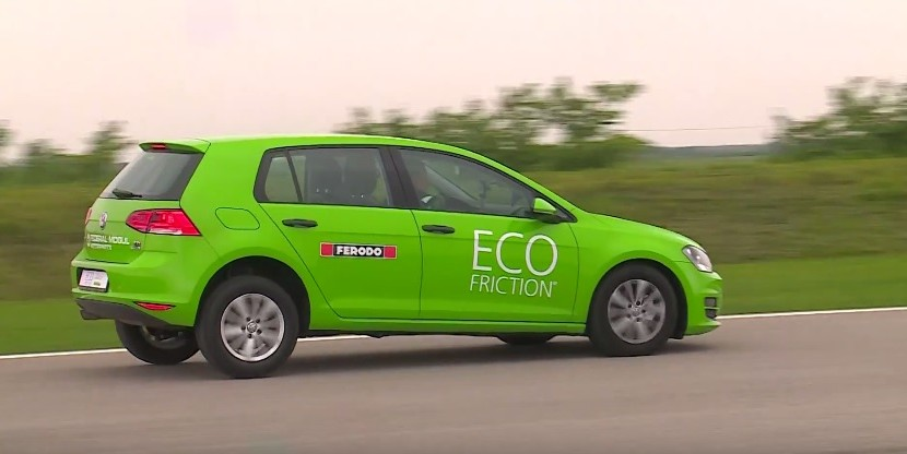 Plăcuțele Ferodo Eco-Friction