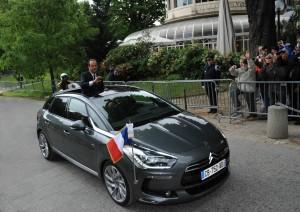 Francois Hollande DS5 Emmanuel Macron
