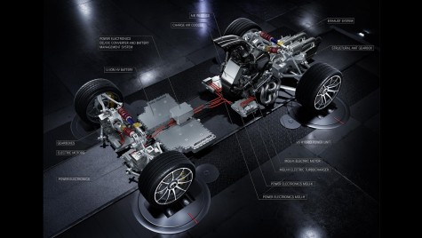 Mercedes-AMG R50: Supercar AMG cu 4 motoare și peste 1.000 CP