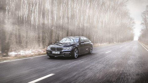 Test BMW 750Ld xDrive: cu mușchii flexați