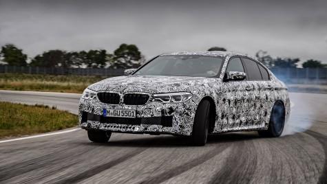 OFICIAL: Noul BMW M5 va avea tracțiune integrală