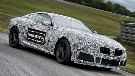 BMW M8: Primele imagini oficiale cu noul super coupe