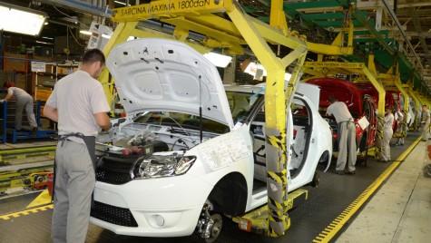 În primele nouă luni din 2018 Dacia a produs la Mioveni peste 242.000 vehicule