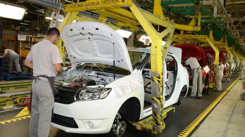 În primele nouă luni din 2018 Dacia a produs la Mioveni peste 200.000 vehicule