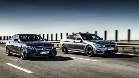 Test drive BMW 540i xDrive vs Mercedes E 400 4Matic