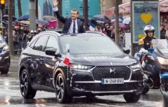 Mașina președintelui – Emmanuel Macron a ales DS7 Crossback