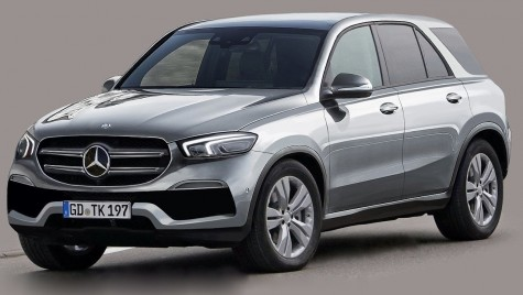 CUM arată noul Mercedes GLE, așteptat pe piață în 2018