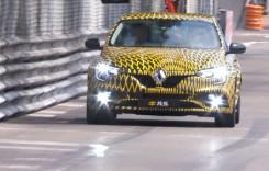 Noul Renault Megane RS a debutat la Monaco Grand Prix
