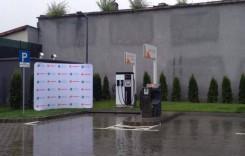 Prima benzinărie Rompetrol cu stație de încărcare electrică