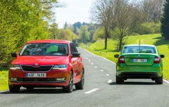 Skoda Rapid facelift: Atac la Dacia Logan în 65 imagini