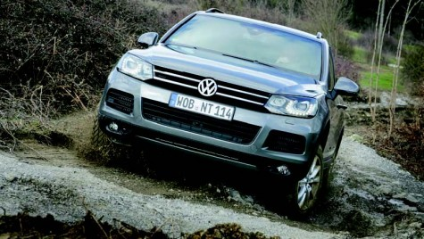 Touareg BlueMotion Technology