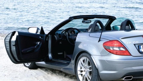 Test drive Mercedes-Benz SLK – Top down