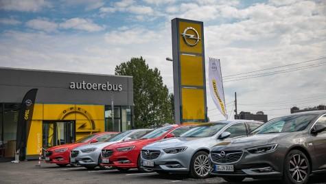 Un nou showroom Opel deschis în București