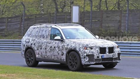 BMW X7: Primele imagini cu fratele mai mare al lui X5