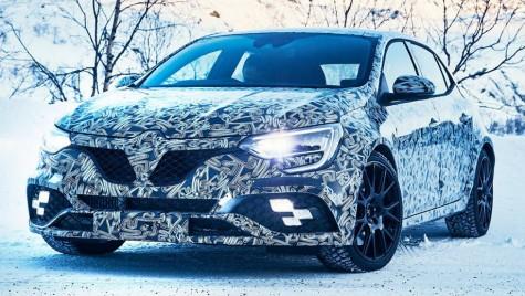 Foto: Noul Renault Megane RS nu se teme de zăpadă
