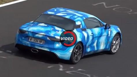 Alpine A110 Coupe testat la limită pe Nurburgring