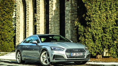 Test Audi A5 Coupe 2.0 TDI S tronic – Private Jet