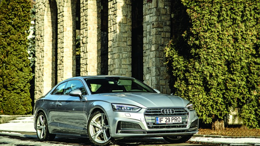 Test Audi A5 Coupe