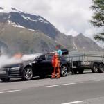 Audi A7 incendiu (2)