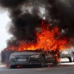 Audi A7 incendiu (3)