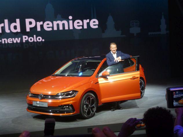 Herbert Diess VW Polo