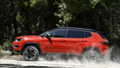Jeep Compass și Mazda CX-5 au primit 5 stele la testele de siguranță EuroNCAP