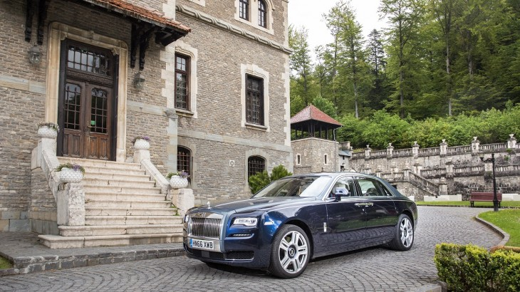 Rolls-Royce Ghost – Castelul bântuit