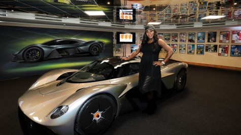 Aston Martin Valkyrie: Așa arată noul hypercar cu 1.000 CP
