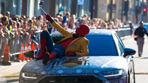 Noul Audi A8 a debutat alături de Spider-Man, la L.A.
