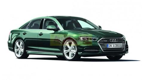 Noul Audi A8 se prezintă pe 11 iulie – PRIMELE FOTO ȘI DETALII
