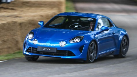 Goodwood Festival of Speed: Debut dinamic pentru Alpine A110