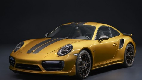 Cel mai exclusiv Porsche 911 Turbo: 607 CP, doar 500 exemplare