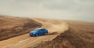 Dacia Logan reclamă Rusia