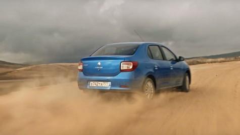Logan așa cum nu l-ai văzut nicioată! Face drift-uri în deșert și e Safety Car pe circuit!