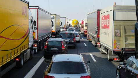 Blocaj total: Greva transportatorilor în București și în țară