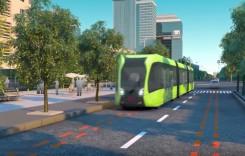 Cum funcționează primul tramvai fără șine (video)