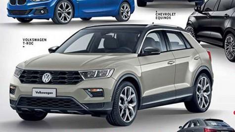 VW T-Roc e aici. Prima imagine cu noul Golf SUV
