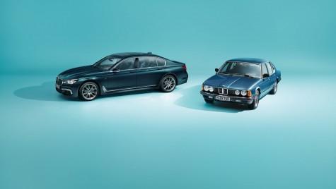 BMW Seria 7 împlinește 40 de ani și sărbătorește cu o ediție specială